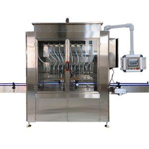 دستگاه پرکن مایع نوع جاذبه اتوماتیک